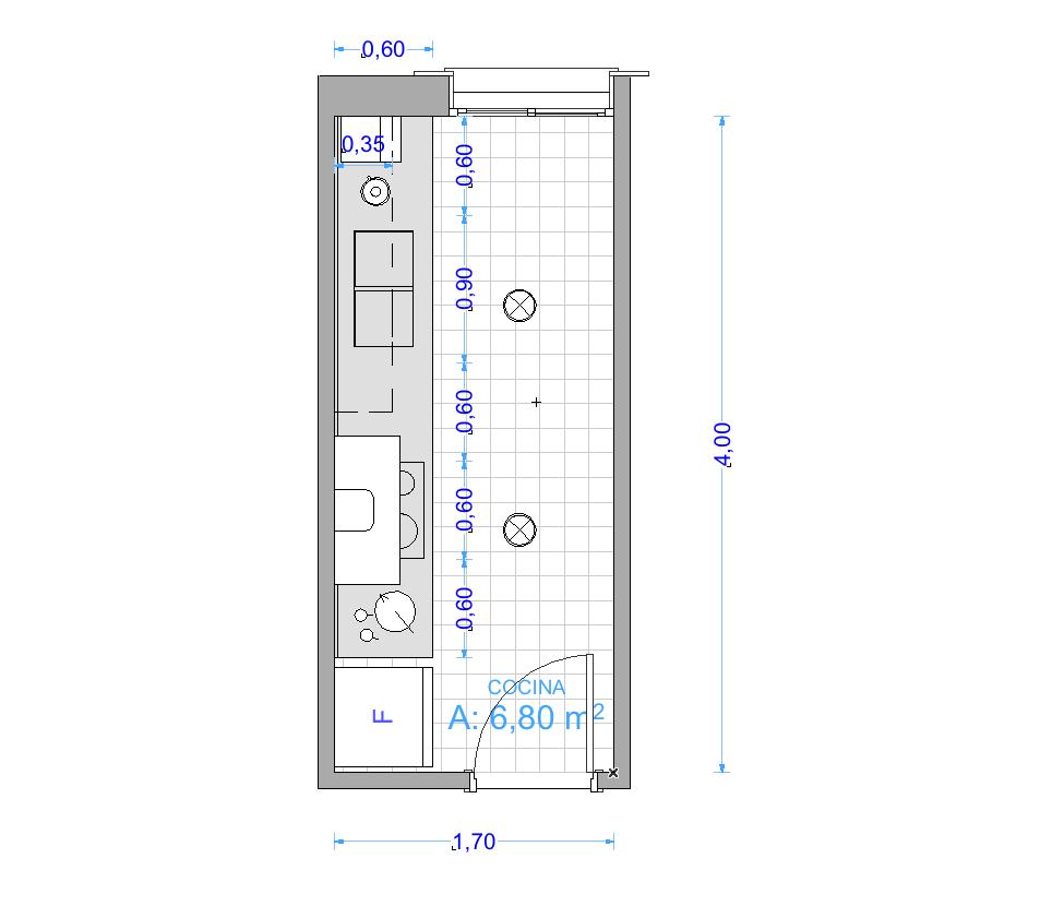 CUANTO MIDE UNA COCINA? | Garquitectos - Estudio de Arquitectura ...